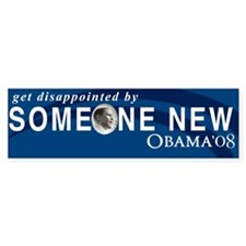 Get Disappointed Bumper Bumper Sticker