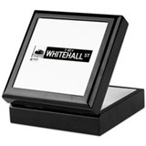 Whitehall Street in NY Keepsake Box