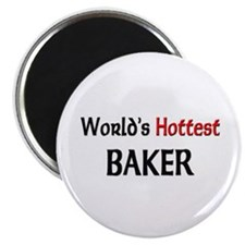 "World's Hottest Baker 2.25"" Magnet (10 pack)"