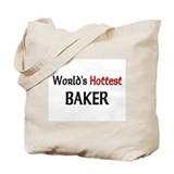 World's Hottest Baker Tote Bag