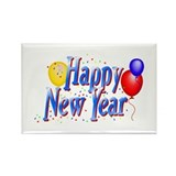 New Years Rectangle Magnet (10 pack)
