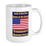Land of the free home of the Large Mug