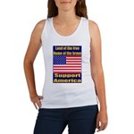 Land of the free home of the Women's Tank Top
