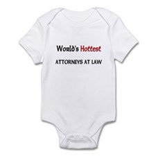 World's Hottest Attorneys At Law Infant Bodysuit