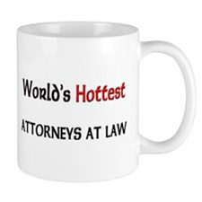 World's Hottest Attorneys At Law Mug