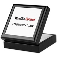 World's Hottest Attorneys At Law Keepsake Box