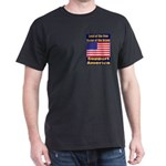Land of the free home of the Dark T-Shirt