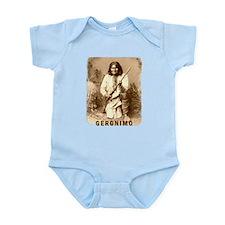 Geronimo Native American Apache Infant Bodysuit