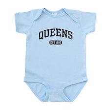 Queens Est 1683 Infant Bodysuit