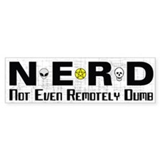 NERD Bumper Sticker (50 pk)