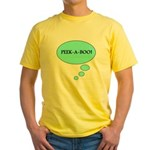 PEEK-A-BOO Yellow T-Shirt