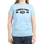 Pennsylvania 1787 Women's Light T-Shirt