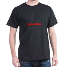 Softball Person Centered Red T-Shirt