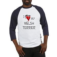 Welsh Terrier Baseball Jersey