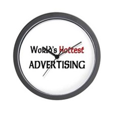 World's Hottest Advertising Wall Clock