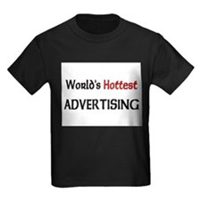 World's Hottest Advertising Kids Dark T-Shirt