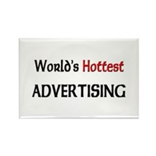 World's Hottest Advertising Rectangle Magnet (10 p