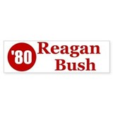 Reagan Bush Bumper Bumper Sticker