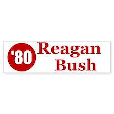 Reagan Bush Bumper Bumper Sticker