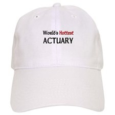 World's Hottest Actuary Baseball Cap
