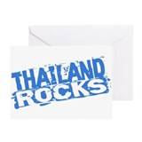 Thailand Rocks Greeting Card