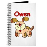 Owen Puppy Dog Journal