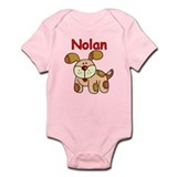 Nolan Puppy Dog Infant Bodysuit