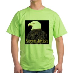 Support America Green T-Shirt
