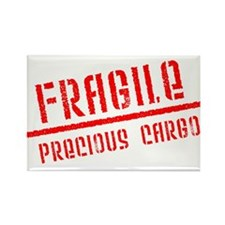 Fragile/Precious Cargo Rectangle Magnet (10 pack)