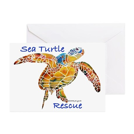 Sea Turtles Greeting Cards (Pk of 20)