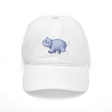 Indigo Hippo Baseball Cap