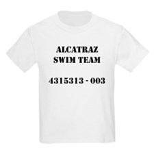 Alcatraz Swim Team Kids T-Shirt
