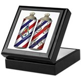 Barber shop quartet Mason Keepsake Box