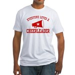 Everyone Loves a Cheerleader Fitted T-Shirt