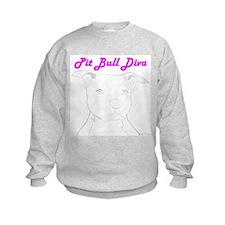 Pit Bull Diva  Sweatshirt