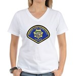 South S.F. Police Women's V-Neck T-Shirt