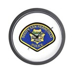 South S.F. Police Wall Clock