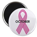 Breast Cancer Awareness Month Magnet