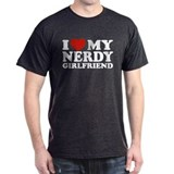 I Love My Nerdy Girlfriend T-Shirt
