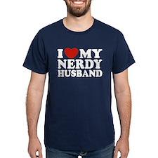 I Love My Nerdy Husband T-Shirt