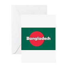 Bangladesh Flag Greeting Card