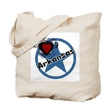 Love Arkansas Tote Bag