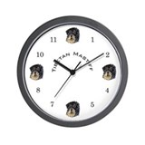 Tibetan Mastiff Wall Clock