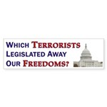 Which Terrorists? (10 Bumpers)