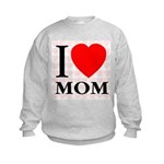 I Love Mom Kids Sweatshirt