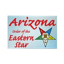 Arizona OES Rectangle Magnet (10 pack)