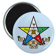 "New York Eastern Star 2.25"" Magnet (10 pack)"