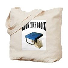 Rock The Block Tote Bag