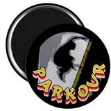 "Parkour 2.25"" Magnet (10 pack)"