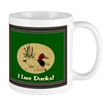 I Love Ducks Mug